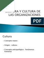 Cultura y Cultura de Las Organizacionessaludocupacional