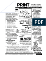 February 22 2009 Newsletter What Matters Most 16thYEAR