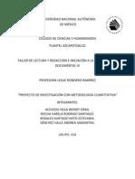 PROYECTO DE INVESTIGACION CON METODOLOGÍA CUANTITATIVA original