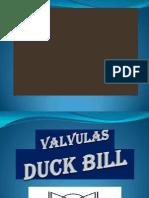 Valvula Duck Bill