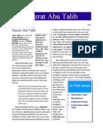 Abu Talib PDF