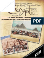 Egypt 2013 Brochure