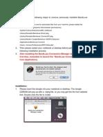 BandLuxe on MAC OS_10.7