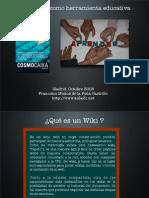 Las Wikis Como Herramientas Educativas
