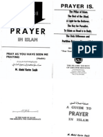 A Guide to Prayer (Salat) in ISLAM