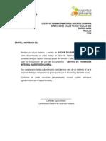 CARTA PROTOCOLAR - MEDIOS DE INFORMACIÓN