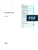 PC Adapter USB - Handbuch