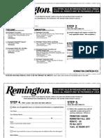 Remington Rebate 2013