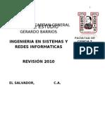 PLAN DE ESTUDIO INGENIERIA EN SISTEMAS Y REDES INFORMATICAS.doc