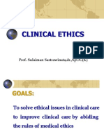 Clinical Ethics, Dr. Lisawati 26.9.12