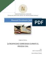 AvanceDoctrinario6-Laincapacidadsobrevenidaduranteelprocesocivil