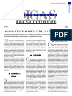 CYMBALISTA, Renato - Minidistritos Industriais e de Serviços