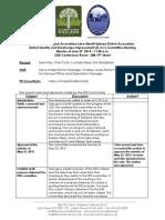 DISI Meeting June 27, 2013 Minutes