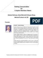 Welding consumables for lean duplex stainless steels.pdf