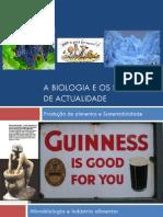 A Biologia e Os Desafios de Actualidade