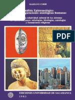 Análisis Epistemológico de configuraciones axiológicas. Corbí