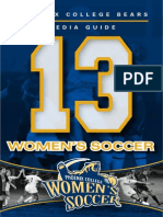 2013 Women's Soccer Media Guide