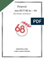 Proposal HUT RI ke-68 SMANSA