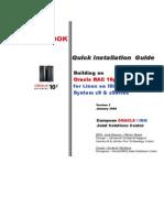 COOKBOOK V1 - Building an Oracle 10gRAC R1 Cluster for Linux on Z