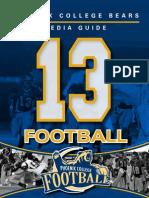 2013 Football Media Guide