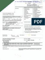 Civil Rights Case 3:2013cv00899 Medical Records