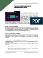 TEMA 2.3.- Los Factores Productivos en la construcción.- Rendimientos y precios