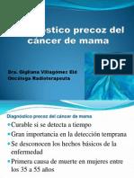 Diagnostico precoz del cáncer de mama