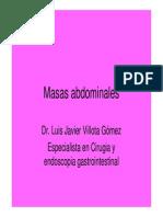 Masas Abdominales