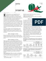 Chile en Conserva, Recetas