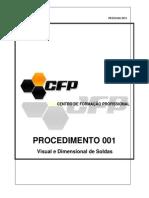 001 Procedimento Visual de Solda . PR.evs.001