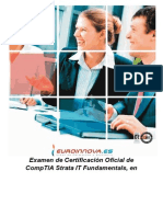 Examen Certificacion Oficial Comptia Strata
