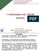 7. Paradigmas Del Tercer Milenio.