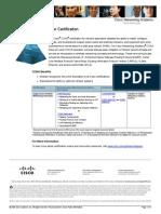 CCNA Datasheet