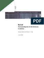 Sentencing Project Report 2009