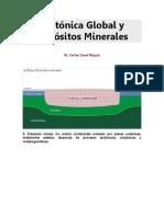 Tectónica Global y Depósitos Minerales