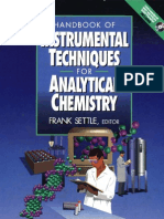 Handbook of Instrumental Techniques for Analytical Chemistry (F. Settle)