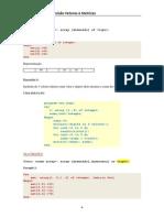 Pascal - Revisão de Vetores e Matrizes
