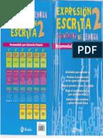 expresion escrita 2, CUADERNOS DE LENGUA, 2º primaria, EDIT. BRUÑO