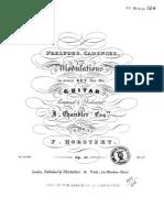 Op 21, Preludes, Cadences, Modulations
