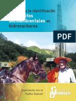 Guia para la identificación de impactos socioambientales en hidrocarburos.