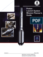 Russia's Proton Mission Planners Guide - 1999