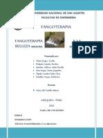 Informe de Fangoterapia11111111111