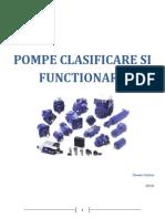 Pompe - Clasificare Si Functionare