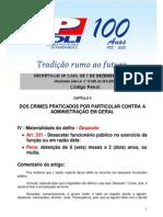 DESACATO A FUNCIONÁRIO PÚBLICO - CÓDIGO PENAL - ART. 331