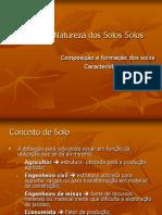1-Origem e Natureaza Dos Solos