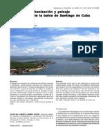 Proceso de Urbanizacion y Paisaje en La Cuenca de La Bahia de Santiago de Cuba