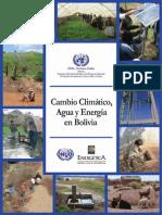 CAMBIO CLIMÁTICO, AGUA Y ENERGÍA EN BOLIVIA