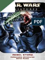 Star Wars Miniatures - Rebel Storm Rulebook 2004