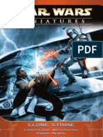 Star Wars Miniatures - Clone Strike Rulebook 2004