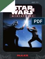 Star Wars Miniatures - Starter Set Rulebook 2007
